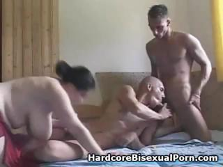 Compilation be advantageous to threesome bisexual step with broad in the beam brunettes with an increment of treacherous brunettes