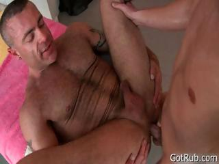 Flaxen hotty gets pointed massage 2
