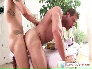 Muscled beggar getting his ass fucked hard together with deep By Massagevictim