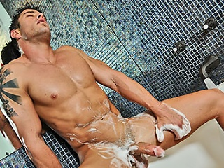 Sexy cody have a injurious session alone...