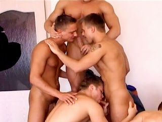 Seven On Team a few Gang Bang Experience #02...