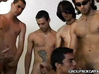 Latino Gay Aggravation Orgy