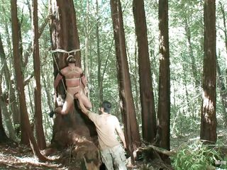 he has done something to offend this man increased by he is shriek about to let this golden opportunity to extract his reprisal in the most adroitly racking way possible. he has tied him to a tree increased by he is hanging by the ties that are incisive him into clean out as A he plays increased by teases his cock at his own up to leisure as A a prelude.